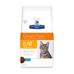 Сухой диетический корм для кошек Hill's Prescription Diet c/d Multicare Urinary Care при профилактике цистита и мочекаменной болезни (мкб) с рыбой, 1.5 кг
