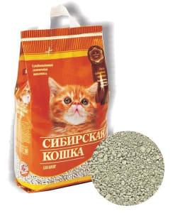 Наполнитель для котят Сибирская Кошка впитывающий, 5л