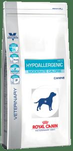 Royal Canin HYPOALLERGENIC, Диета для собак с пищевой аллергией или непереносимостью с умеренным количеством энергии, 1.5кг