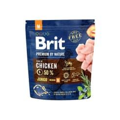 Brit Premium Nature сухой корм для щенков, для средних пород, 1кг