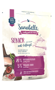 Кошачий корм Sanabelle Senior для пожилых кошек, 0.4кг