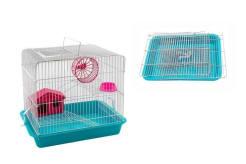 Клетка для грызунов Рокки-2 ( 33*24*28см) комплект