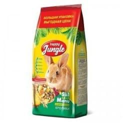 Корм для кроликов Happy Jungle 900 гр