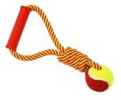 Игрушка для собак Грейфер №1 веревка с мячом