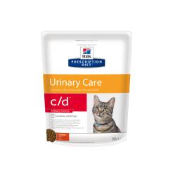 Сухой диетический корм для кошек Hill's Prescription Diet c/d Multicare Urinary Stress при  профилактике цистита и мочекаменной болезни (мкб),  в том числе вызванные стрессом с курицей, 0.4 кг