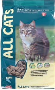 All Cats сухой корм для кошек, 0.4кг