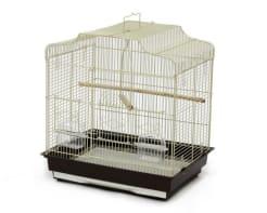 Клетка для птиц № 1 ( 47 * 36 * 50,6 ) фигурная 604