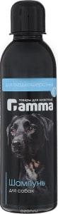 Шампунь ГАММА для гладкошерстных собак, 0.250л
