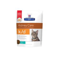 Сухой диетический корм для кошек Hill's  Diet k/d Kidney Care при профилактике заболеваний почек с тунцом, 0.4кг