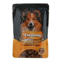 Chammy консервы для собак 85 гр ягненок в соусе