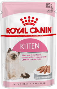 Royal Canin KITTEN INSTINCTIVE (В ПАШТЕТЕ) 0.085кг, Влажный корм для котят от 4 до 12 месяцев
