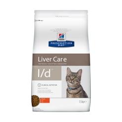 Сухой диетический корм для кошек Hill's  Diet l/d Liver Care при заболеваниях печени, 1.5кг