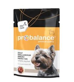 ПРОБаланс консервы для собак мелких и средних пород пауч, 0,1кг