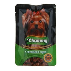 Chammy консервы для собак 85 гр ролик в соусе