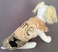 Платье для собак Fine бархат размер XL