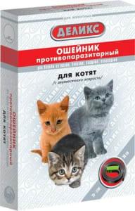 Ошейник от блох ДЕЛИКС NEXT для котят