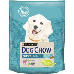 Сухой корм Purina Dog Chow для щенков всех пород со вкусом ягнёнка, 0.8кг