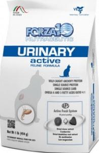 Корм для кошек Forza10 Urinary Active со вкусом рыбы, 0,454кг