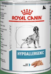 Royal Canin HYPOALLERGENIC (БАНКА) 0.2кг, Диета для собак с пищевой аллергией или непереносимостью