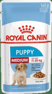 Royal Canin MEDIUM PUPPY, 0.140кг