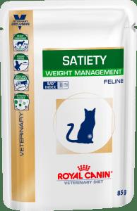 Royal Canin SATIETY WEIGHT MANAGEMENT 0.085кг, Контроль избыточного веса