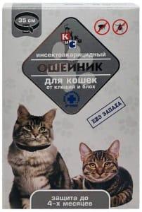 Ошейник от блох АРТЕМОН для кошек 35 см