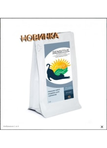 LiveRa SENSITIVE, низкозерновой сухой корм для взрослых кошек, 0.25кг