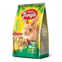 Корм для кроликов Happy Jungle 400 гр