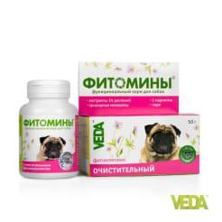 Фитомины с очистительным фитокомплексом лдя собак ,50г