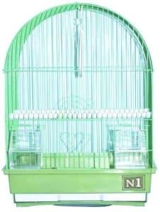 Клетка для птиц № 1 ( 34,5 * 28 * 45 ) цвтная овальная ( 400 )