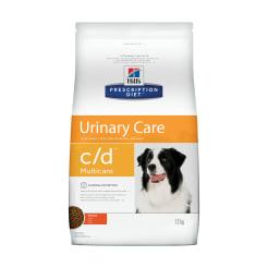 Сухой диетический корм для собак Hill's Prescription Diet c/d Multicare Urinary Care при профилактике мочекаменной болезни (мкб) с курицей, 12 кг