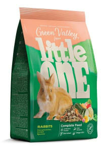 Корм для кроликов Little One Зеленая долина, 0.75кг