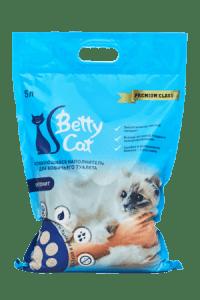 Гигиенический наполнитель Betty Cat  бентонит, 4кг