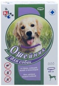 Ошейник от блох КИСКА для собак 65 см