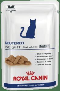 Royal Canin NEUTERED WEIGHT BALANCE, 0.1кг