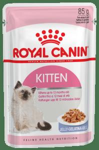Royal Canin KITTEN INSTINCTIVE (В ЖЕЛЕ) 0.085кг, Влажный корм для котят от 4 до 12 месяцев