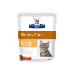 Сухой диетический корм для кошек Hill'sDiet k/d Kidney Care при профилактике заболеваний почек с курицей, 0.4кг