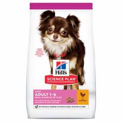 Сухой корм Hill's Science Plan Light для собак мелких пород для поддержания здорового веса с курицей и рисом, 1.5 кг