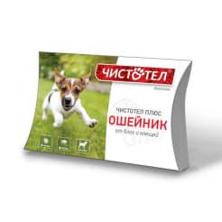 Ошейник от блох Чистотел - супер для собак
