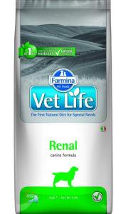 Farmina VET LIFE Canine Renal диета для собак сухой, 2кг