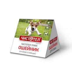 Ошейник от блох Чистотел домик для собак