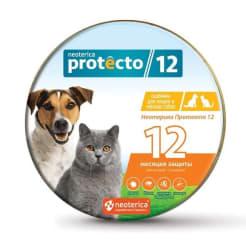 Ошейник от блох Neoterica Protecto для кошек