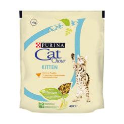 Сухой корм для котят Purina Cat Chow, домашняя птица, 0.4кг