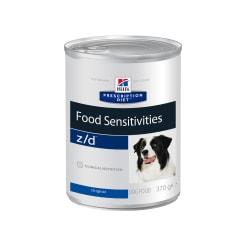 Влажный диетический гипоаллергенный корм для собак Hill's Prescription Diet z/d Food Sensitivities при пищевой аллергии, 0.37кг