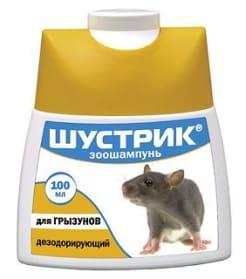 Шампунь Шустрик для грызунов дезодорирующий, 100мл