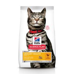 Сухой корм Hill's Science Plan Urinary Health для взрослых кошек, склонных к мочекаменной болезни с курицей, 0.3кг