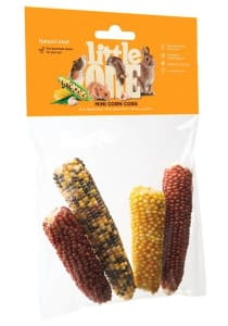 Лакомство для грызунов Little One Мини кукуруза 130 гр