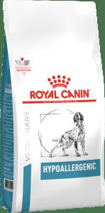 Royal Canin HYPOALLERGENIC 2кг, Диета для собак с пищевой аллергией или непереносимостью