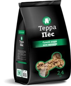 Терра Пёс влажный корм для щенков, 2.4кг