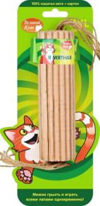Игрушка для кошек Великий Кот Рулетик мятный из картона